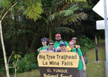 el yunque trail work